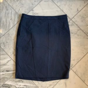 The Limited Blue Pencil Skirt